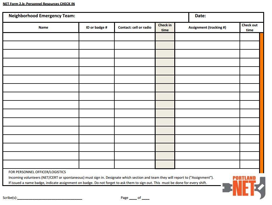 NET Forms | Hayden Island Net